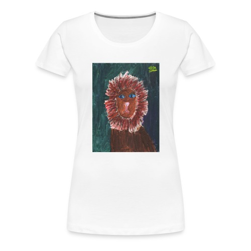 Lion T-Shirt By Isla - Women's Premium T-Shirt
