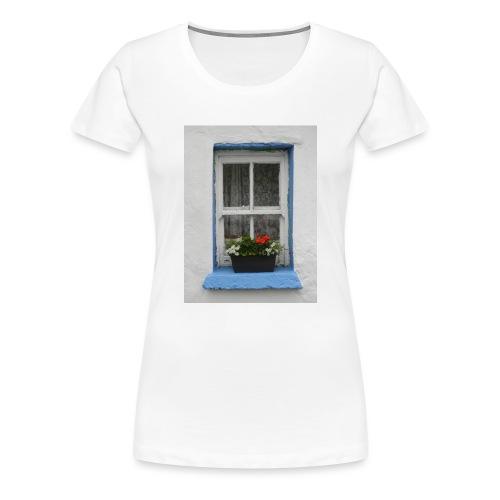 Cashed Cottage Window - Women's Premium T-Shirt