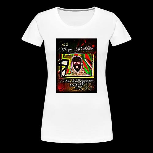 Hazer-das kaputt gegangene Bild - Frauen Premium T-Shirt