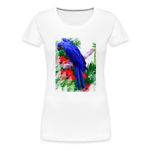 PAPPAGALLI - Maglietta Premium da donna