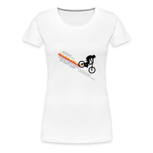 Roads? - Women's Premium T-Shirt