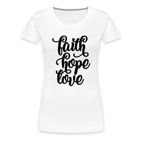 typo einfach 2016 copy - Frauen Premium T-Shirt