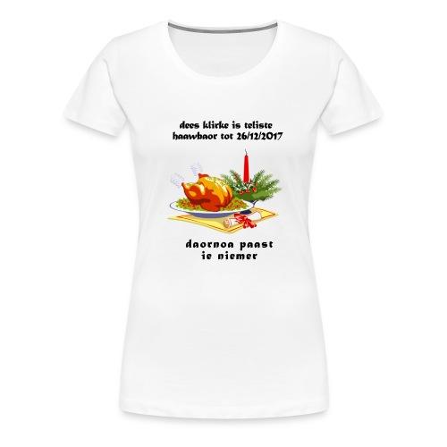 teliste_haawbaor - Vrouwen Premium T-shirt