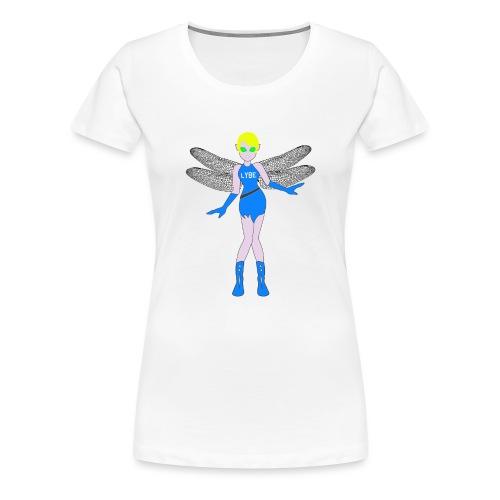LYBE - BLUE - Maglietta Premium da donna
