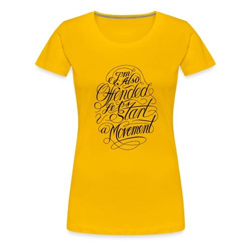 Offended (black) - Dame premium T-shirt