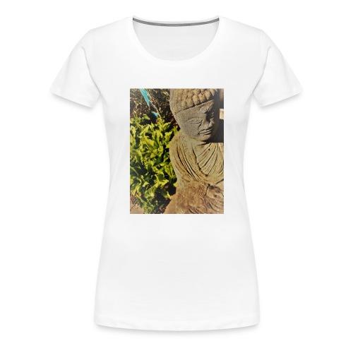 Garden Buddha - Women's Premium T-Shirt