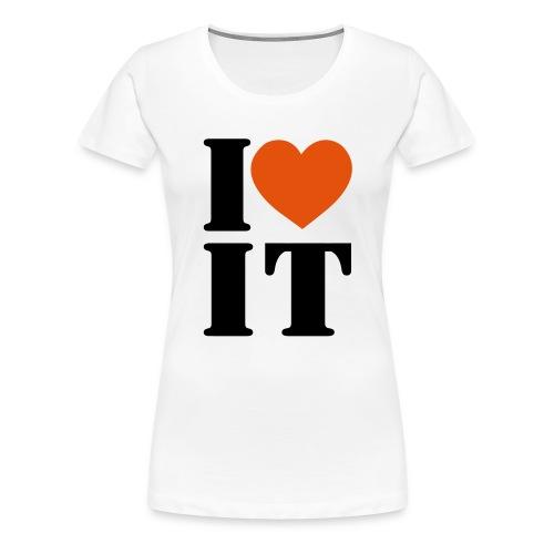 ILOVEIT - Vrouwen Premium T-shirt