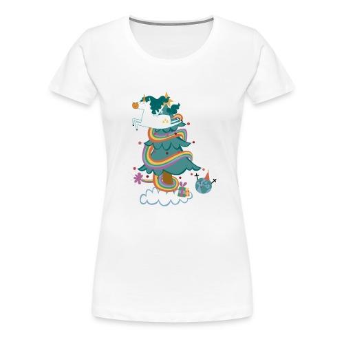 arbol-navidad - Camiseta premium mujer