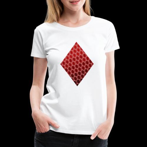 roter Diamant - Frauen Premium T-Shirt