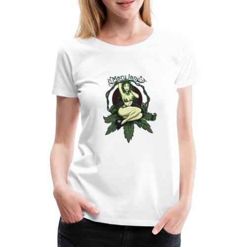 Mary Jane PINUP - Premium T-skjorte for kvinner