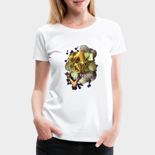 Fighting cards - Soigneuse - T-shirt Premium Femme