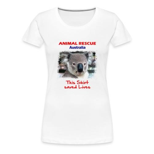 Australien KOALA RESCUE - Spendenaktion - Frauen Premium T-Shirt