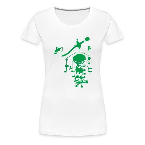 tonearm05 - Vrouwen Premium T-shirt