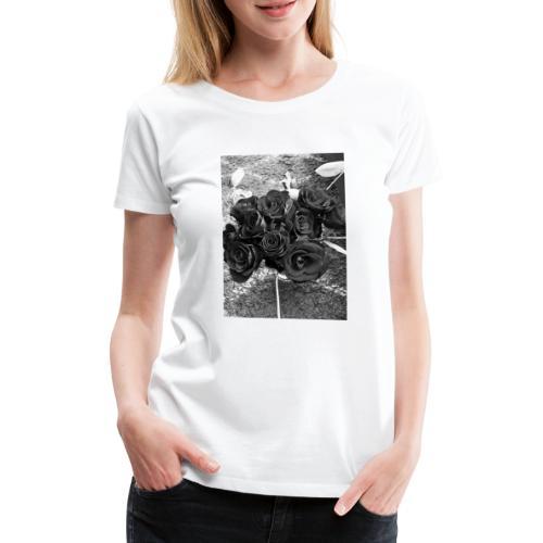 Roses - Dame premium T-shirt