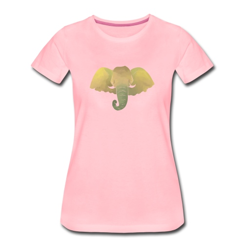 Elefant - Elefantenkopf - Frauen Premium T-Shirt