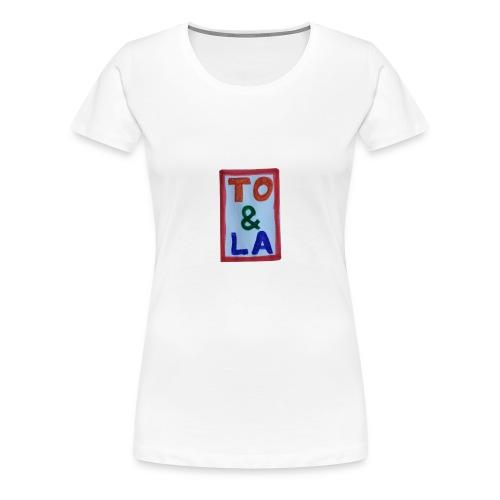 TO & LA - Koszulka damska Premium