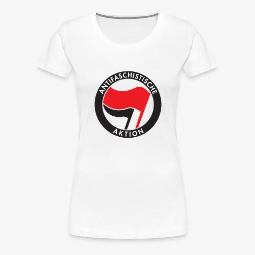 Atnifaschistische Action - Antifa Logo - Women's Premium T-Shirt