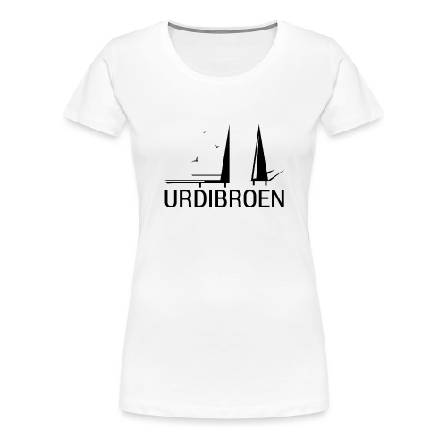 Urdibroen Coffee mug, white - Premium T-skjorte for kvinner