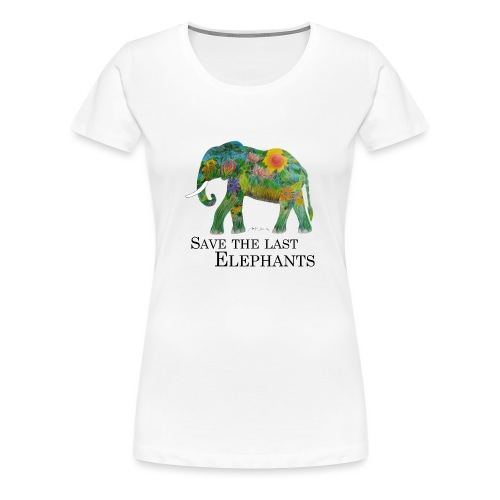 Save The Last Elephants - Frauen Premium T-Shirt
