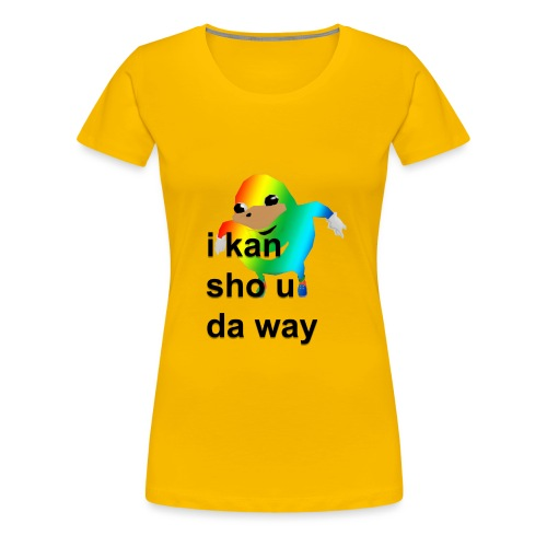 uganda - Naisten premium t-paita