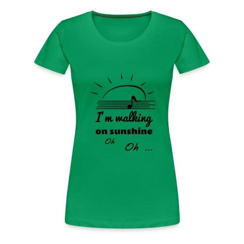 sunshine - Frauen Premium T-Shirt
