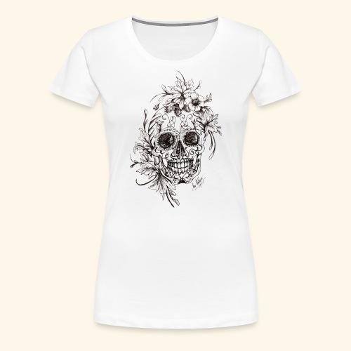 SkullDrawings - Premium-T-shirt dam