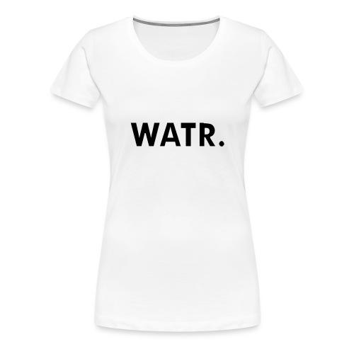 watr groot - Vrouwen Premium T-shirt