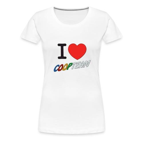 I love coop team - T-shirt Premium Femme