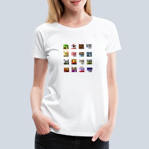 A Planet of Mine Animals - T-shirt Premium Femme