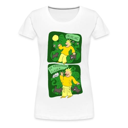 Katzenhaare - Frauen Premium T-Shirt