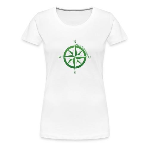Team Bushcraft Kompass - Frauen Premium T-Shirt