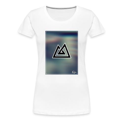 Montagne. - T-shirt Premium Femme