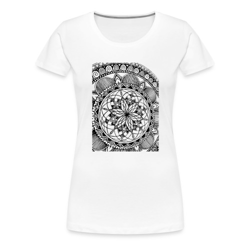 Aeolian Mandala - T-shirt Premium Femme