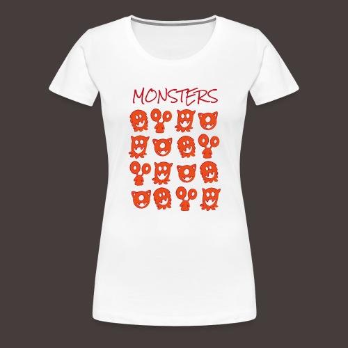 monsters - T-shirt Premium Femme