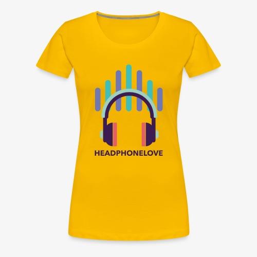 headphonelove - Frauen Premium T-Shirt