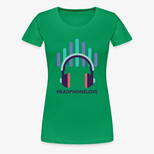 headphonelove - Frauen Premium T-Shirt