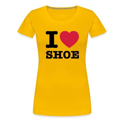 iloveshoe - Frauen Premium T-Shirt