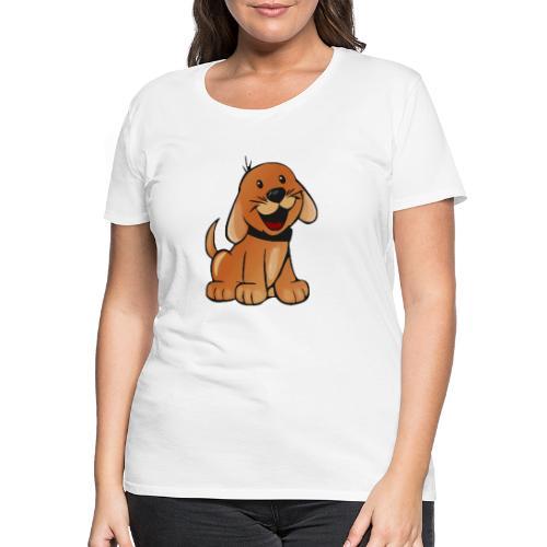 cartoon dog - Maglietta Premium da donna