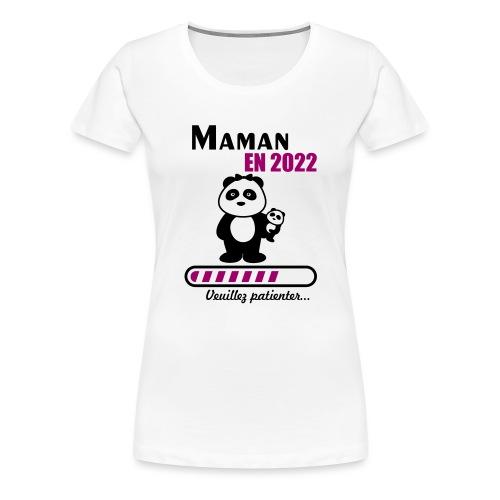 Maman en 2022 - Women's Premium T-Shirt