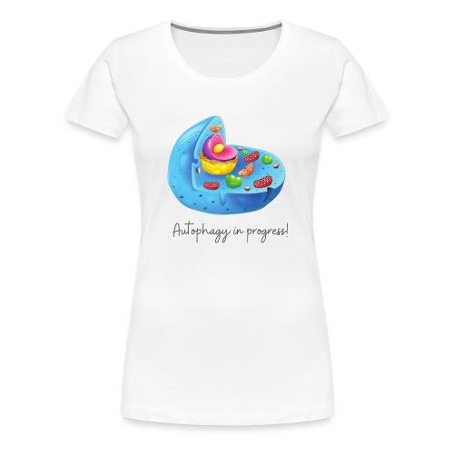 Autophagy 1 - Premium-T-shirt dam