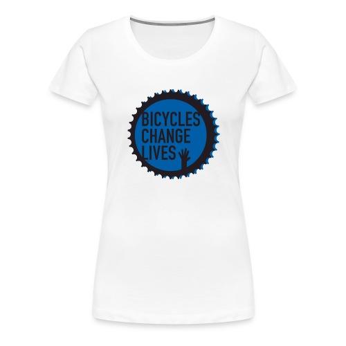 BCL Blue Cog - Women's Premium T-Shirt