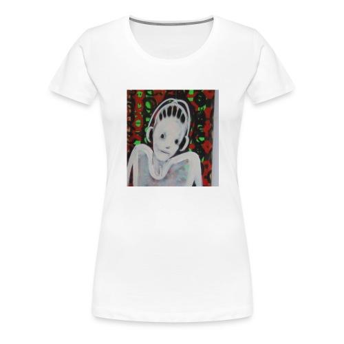 headphone - Frauen Premium T-Shirt