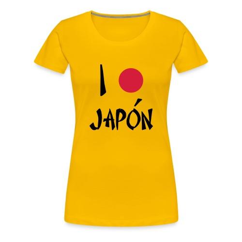 I love japon - Camiseta premium mujer