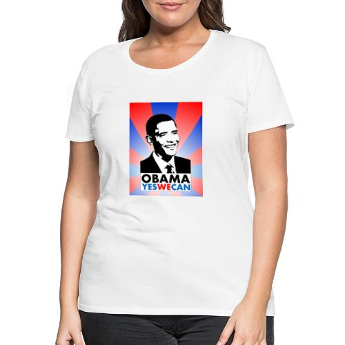 obama - Frauen Premium T-Shirt