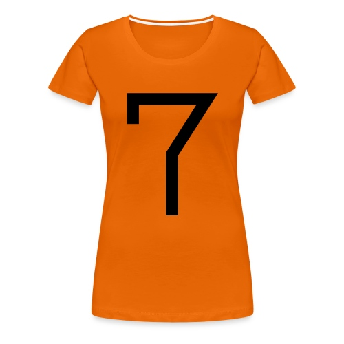 7 - Women's Premium T-Shirt