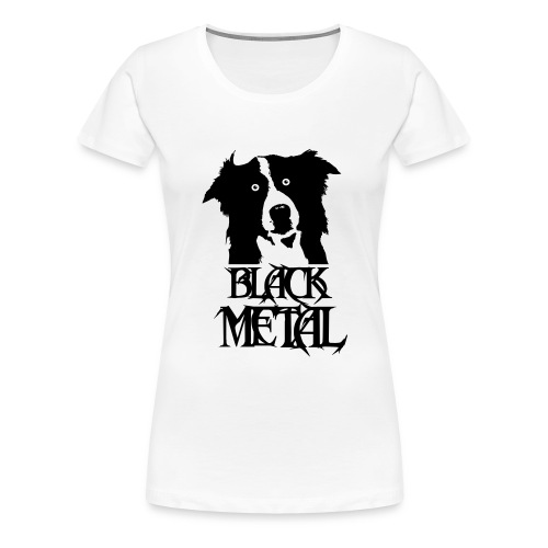 bordermetal - T-shirt Premium Femme