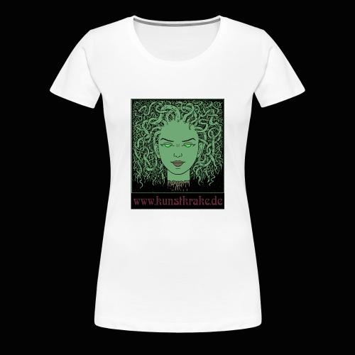 medusa20 Kopie - Frauen Premium T-Shirt