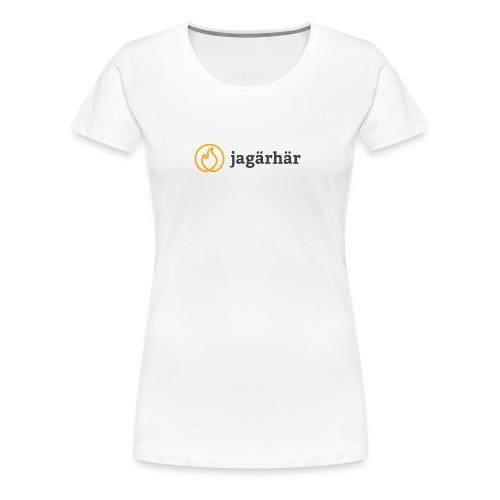 #jagärhär - Premium-T-shirt dam