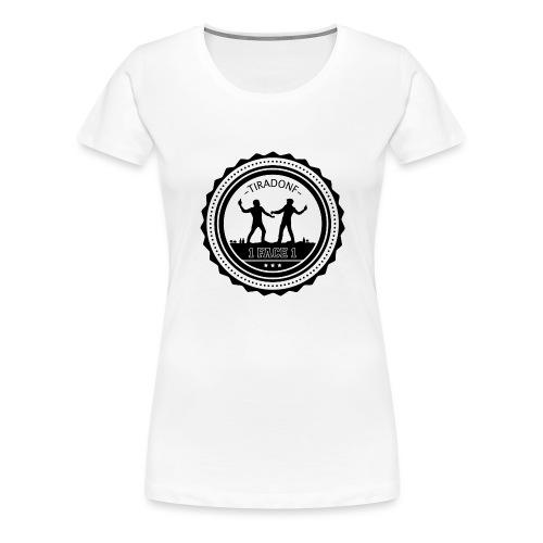 Badges de 12 - T-shirt Premium Femme