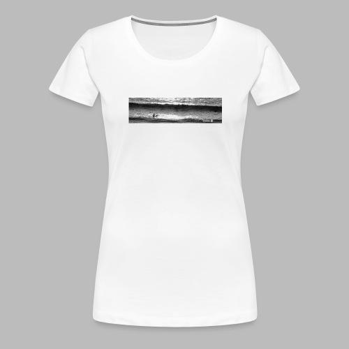 Between Sets - Women's Premium T-Shirt
